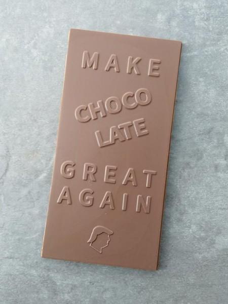 Make chocolate great again Chocolate