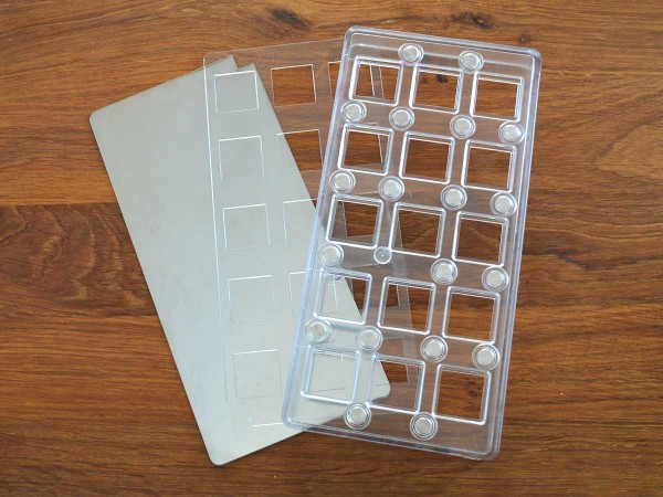 Praline Mould Cube CP19 chocopro