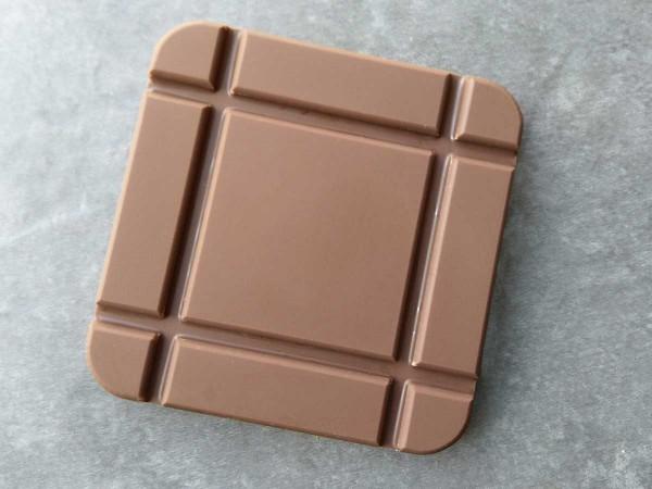 Square mini chocolate bar