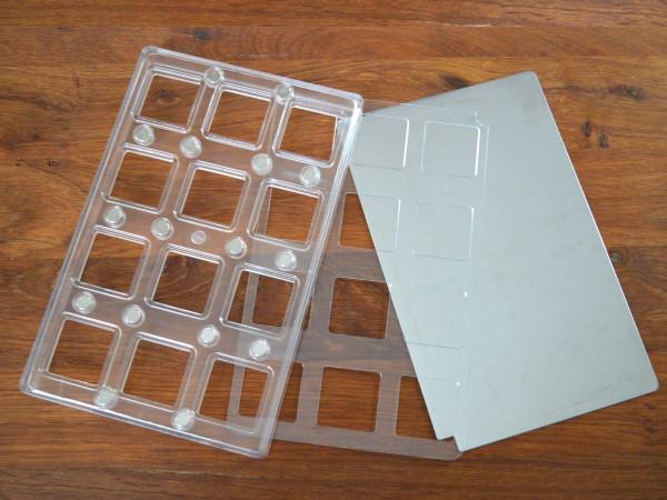 Chocolate mold chocopro square