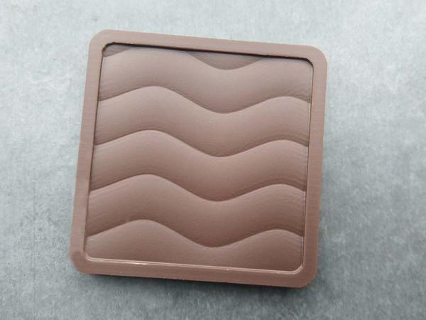 Schokolade Minitafel mit Wellenmuster