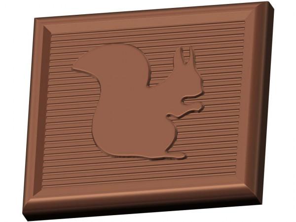 Eichhörnchen, Minitafel Schokoladenform