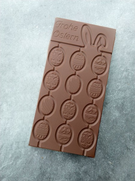 Frohe Ostern Schokoladentafel