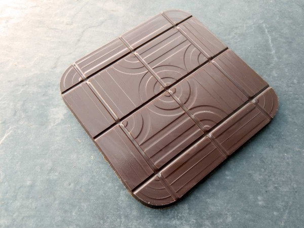 Chocolate tablet retrodesign