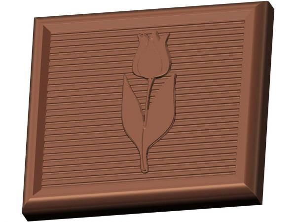 Schokoladenform Minitafel Tulpe