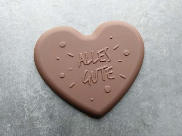 Schokoladen Herz Alles Gute