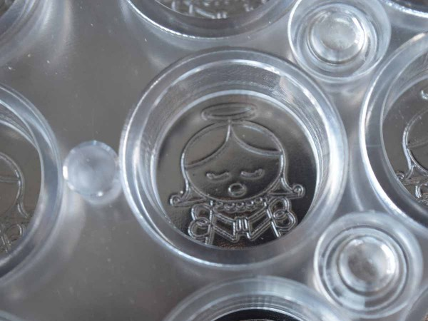 CP41 Motivfolie Engel für chocopro Pralinenform