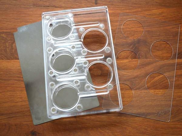 CP01 Lolly Schokoladenform Polycarbonat chocopro